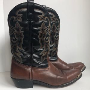 Leather western boots size 12D